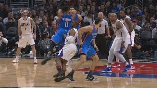 Clippers Lose Chris Paul to Injury, Speights 23 Pts off Bench! Thunder vs Clippers