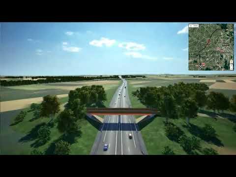 GCO Strasbourg - Animation 3D