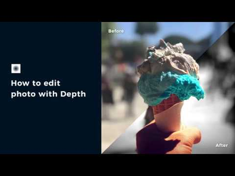 How to Edit Photos with Depth using infltr