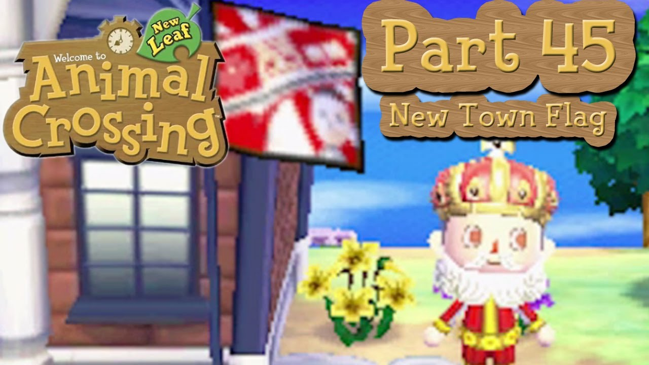 Animal Crossing New Leaf Cat Flag
