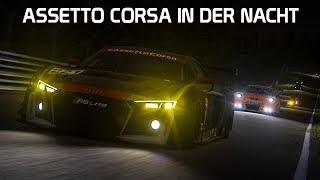 Nacht in Assetto Corsa! Mod | Assetto Corsa German Gameplay [HD] Nordschleife