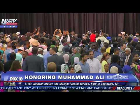 Watch: Janazah (Jenazah) Muslim Prayer Service for Muhammad Ali