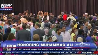 WATCH FNN: Muslim Speakers Speak at Muhammad Ali