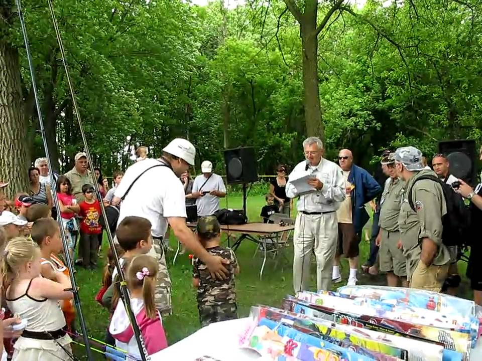 Bentley fishing usa at annual kids fishing derby for Hunt and fish club nyc