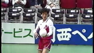 黒鷲旗 第36回(1987年)全日本バレーボール男子 準決勝 新日鉄vs日本鋼管