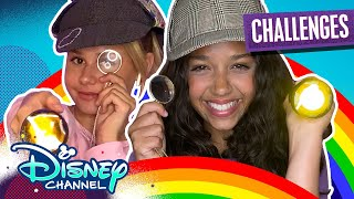 Ruth and Ruby's Virtual Sleepover Challenges | True Confessions Challenge 🤫| Disney Channel
