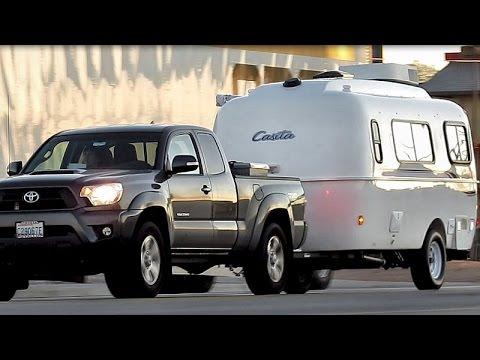 Tacoma Travel Trailer >> CASITA TRAVEL TRAILER w/ TOYOTA TACOMA - YouTube