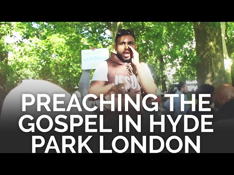 Preaching the Gospel and praying for the sick | Hyde Park London