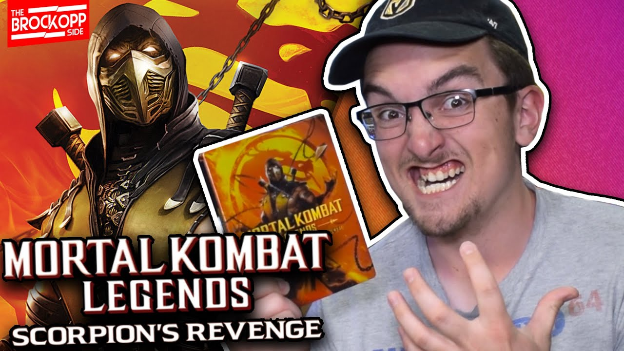 Mortal Kombat Legends Scorpions Revenge Blu Ray Steelbook