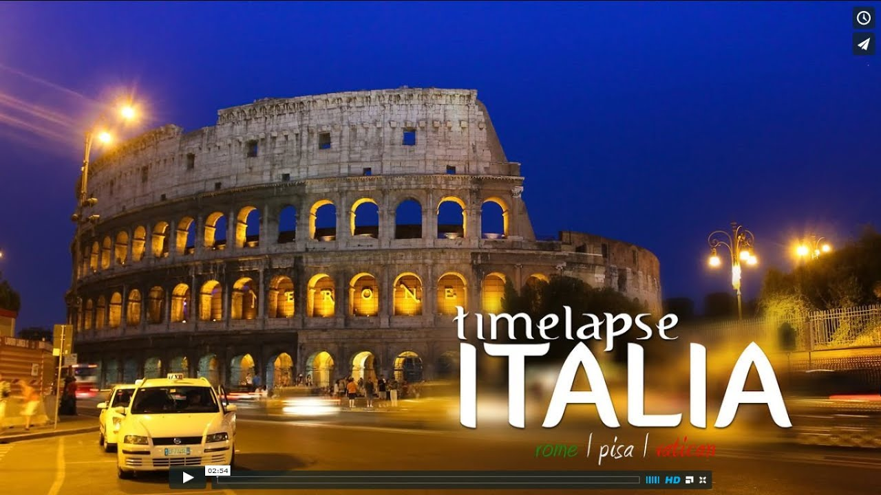 Timelapse ITALIA
