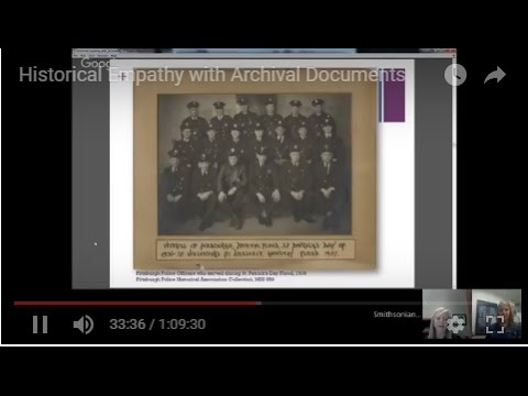 Historical Empathy with Archival Documents