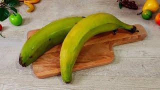 Закуска ИЗ БАНАНА для вечера перед телевизором ВОЛШЕБНЫЕ чипсы из Банана!!