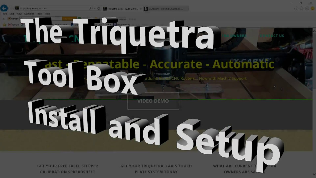 Triquetra Tool Box for Arduino/GRBL and Mach3