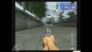 Die Hard: Vendetta GameCube Gameplay - Bullet time death
