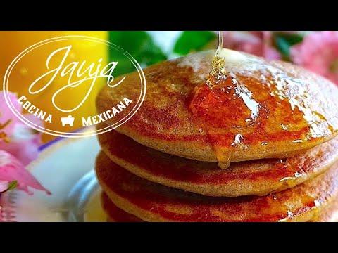 Hot Cakes de Avena, Plátano y Yogurt sin Harina