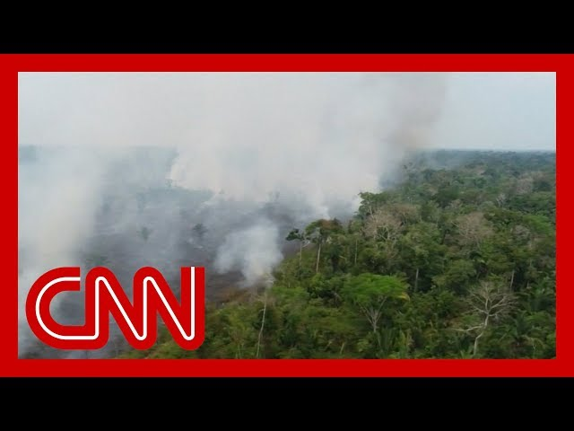 Brazil is sending 43,000 troops to fight the massive Amazon wildfire