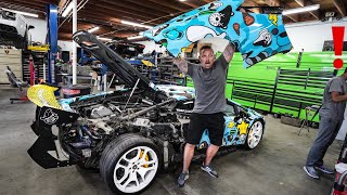 BUILDING THE CRAZIEST LAMBORGHINI IN THE WORLD EVEN HAS ROLLS ROYCE STARLIGHT HEADLINER!