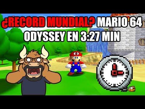 Reto #15: Conseguir un Récord Mundial - [WR] Speedrun Super Mario 64 Odyssey