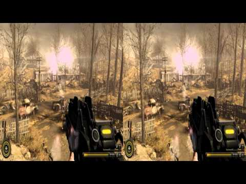 Resistance 3 Stereoscopic 3D Gameplay