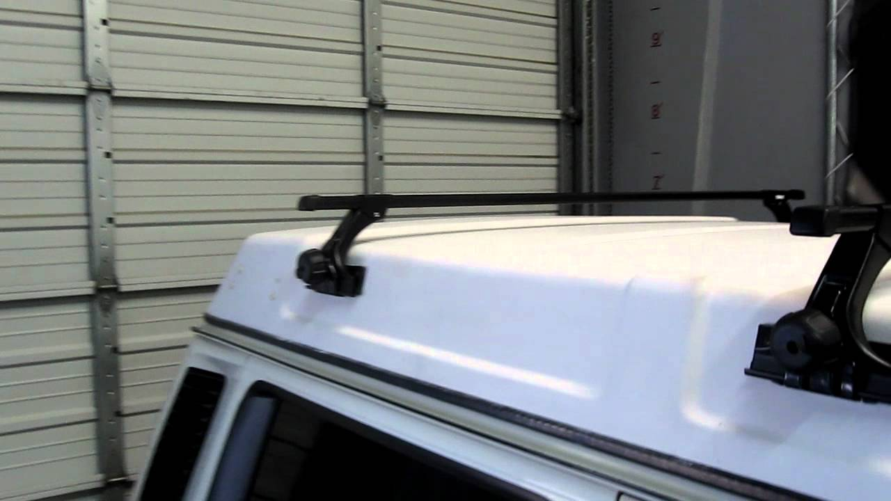 1986-1991 Volkswagen Westfalia with Thule 300 Gutter Foot Roof Rack by Rack Outfitters - YouTube : thule canopy roof rack - memphite.com