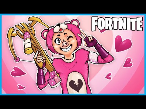 *NEW* CROSSBOW and VDAY Skins in Fortnite: Battle Royale! (Fortnite LIVE w/ I AM WILDCAT!)
