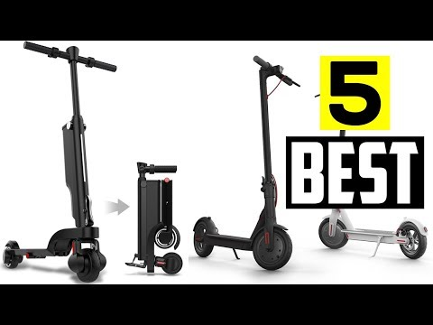 5 Best Foldable Electric Scooter To Buy Everyday Traveling