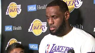 LeBron James speaks publicly for first time since returning from China I ABC7
