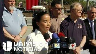 Continúa la tarea de recuperación de cuerpos bajo los escombros del puente colapsado en Miami
