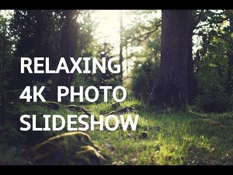 RELAXING PHOTO SLIDESHOW IN 4K UHD! Beautiful Art Photography Slideshow Screensaver | Silent Scenery
