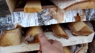 видео березовых дров