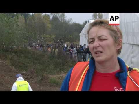 Migrant influx straining Slovenia's healthcare