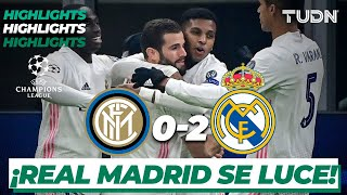 Highlights | Inter Milán 0-2 Real Madrid | Champions League 2020/21-J4
