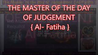 The Master of The day of judgement
