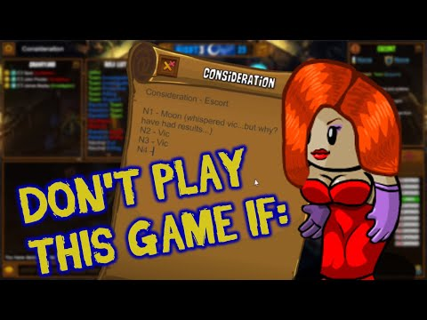 Town Of Salem | DON'T EVEN PLAY THIS GAME IF | Escort Gameplay
