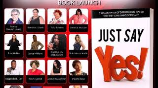 Just Say Yes Virtual Book Launch!
