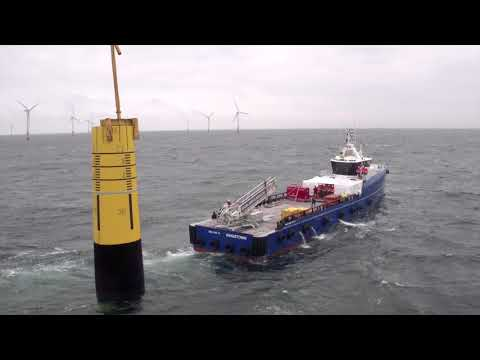 Marine Access Solution by Damen, Ampelmann and VEEM