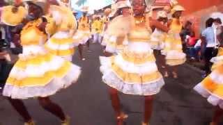 Le groupe Ti Bwa de bouillante