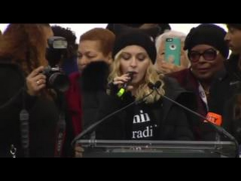 Madonna Threatens to B...