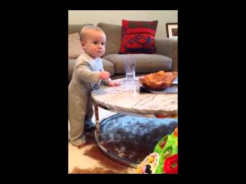 "Defiant Baby Won't Listen To ""No"""