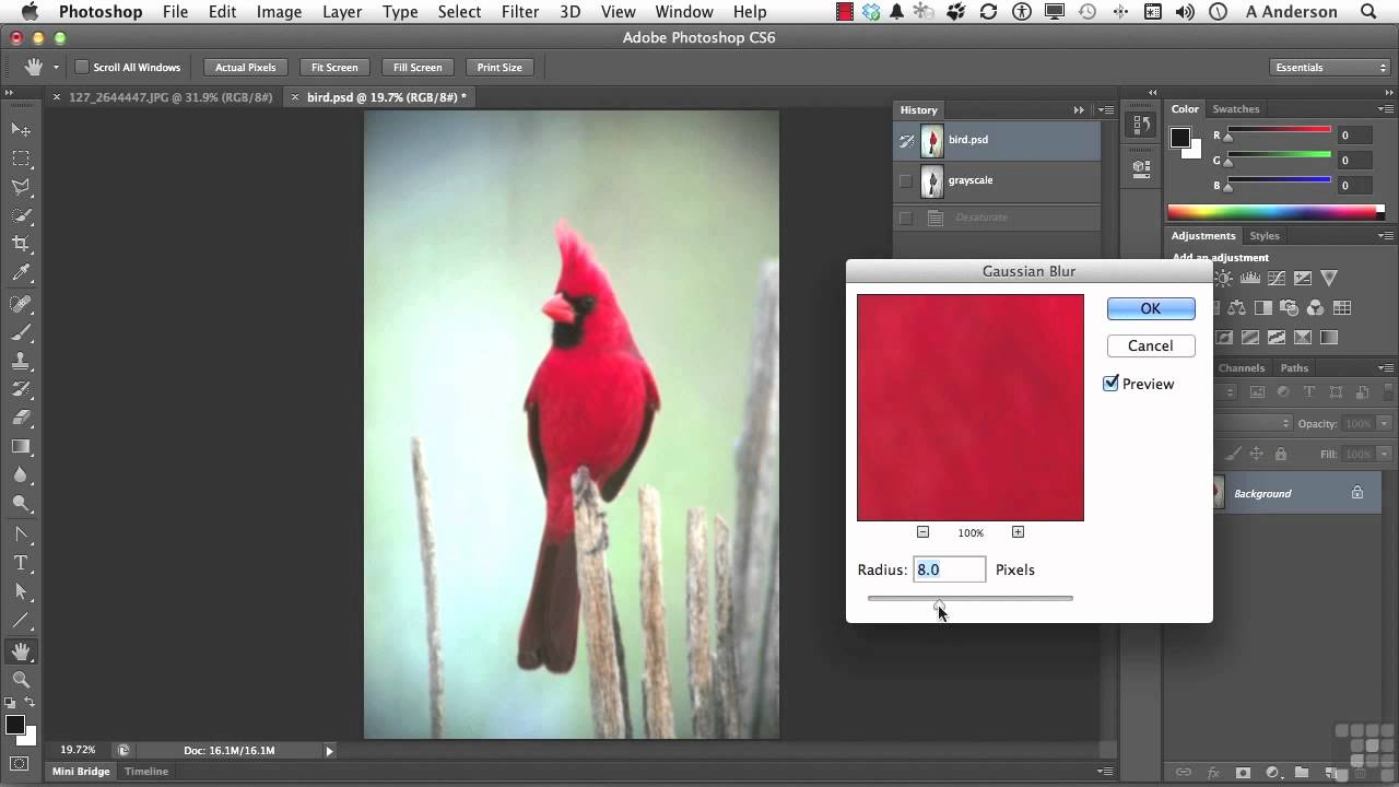 Adobe Photoshop CS6 Tutorial | Using the History Brush and ...