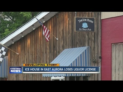 East Aurora bar loses liquor license