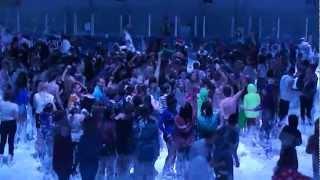 harlem shake at icesheffields foam party