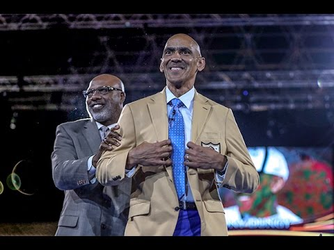 Tony Dungy Introduced at Hall of Fame Induction Ceremony 2016