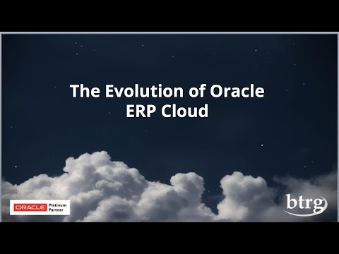 The Evolution of Oracle ERP Cloud Final