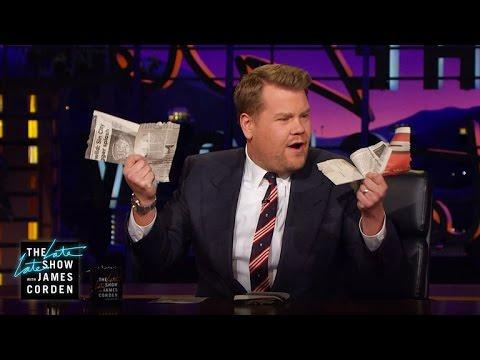 Magic Trick: Newspaper