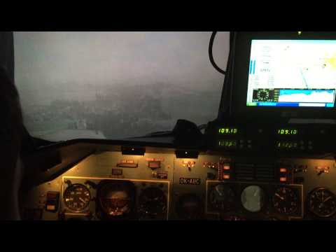 Flying in poor weather - VFR into IMC training.
