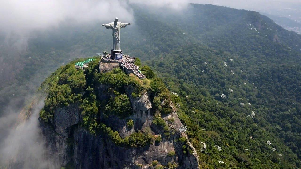 Christ Redeemer-Cristo Redentor-Corcovado- Rio De Janeiro