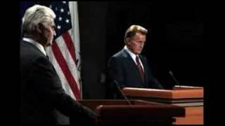 West Wing Presidential Debate