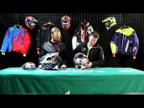 Castle X Mode Dual Sport SV Team Helmet XL Blue