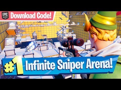 Infinite Sniper Arena Mini Game! - Fortnite Creative Map